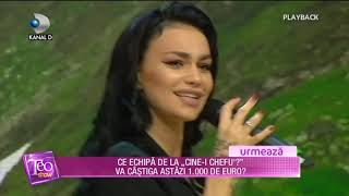 Teo Show (10.07.2018) - Andreea Olaru, succes nebun cu &quotDemonul meu&quot! Partea 7