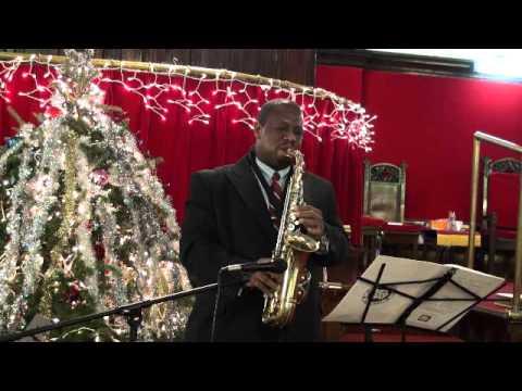 Chris Fleischer, Alto Saxophone: Silent Night