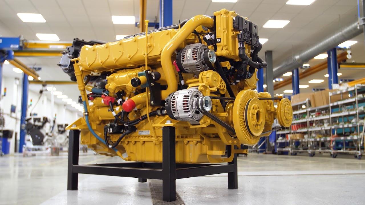 meet the new c7 1 commercial propulsion engine  cat marine