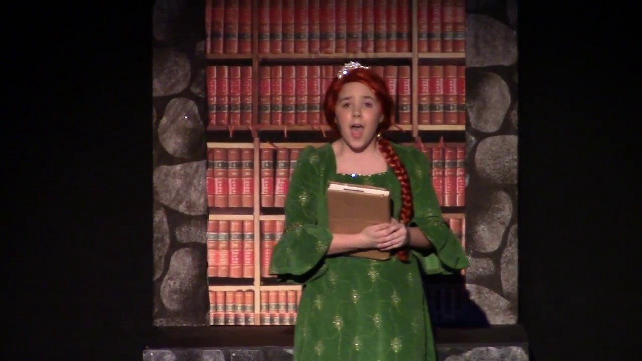 young fiona in shrek the musical youtube