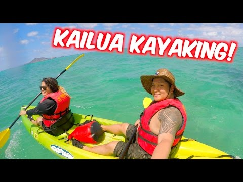 KAYAKING IN KAILUA | MOKULUA ISLANDS | OAHU HAWAII