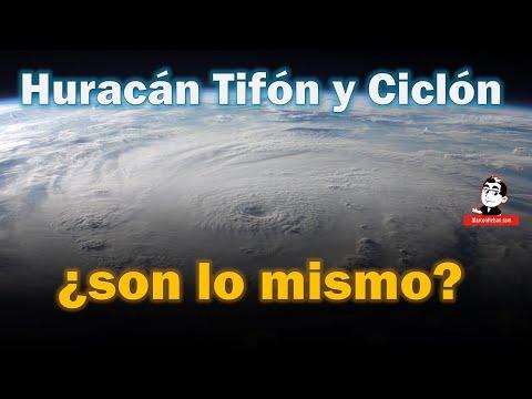 ¿Huracán, Tifón y Ciclón son lo mismo?