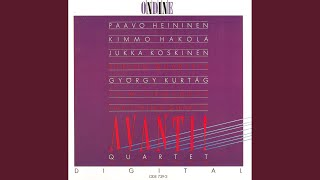 "Hommage a Mihaly Andras, ""12 Microludes for String Quartet"", Op. 13: No. 12. Leggiero, con..."