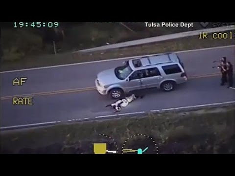 Tulsa police officer charged with manslaughter over Terence Crutcher death