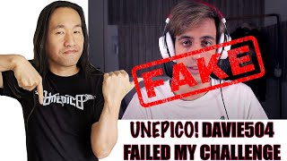 I Exposed YouTuber Davie504. No Holy Slap, Davie504 Bass Solo Failed!