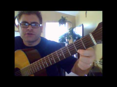 How To Play The McDonald's Jingle (I'm Lovin' It) On Acoustic Guitar