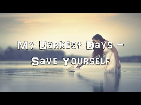 My Darkest Days - Save Yourself [Acoustic Cover.Lyrics.Karaoke]