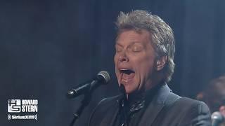 "Download Lagu Jon Bon Jovi & Train's Pat Monahan ""Wanted Dead or Alive"" at Howard's Birthday Bash (2014) mp3"