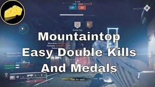 Easier Double Kills & Medals For Mountaintop Grenade Launcher