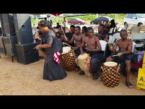 Ghana cultural/ kete dance