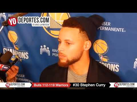 Stephen Curry Chicago Bulls 112-119 Golden State Warriors