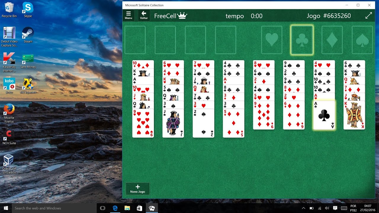 windows 7 freecell download for windows 10