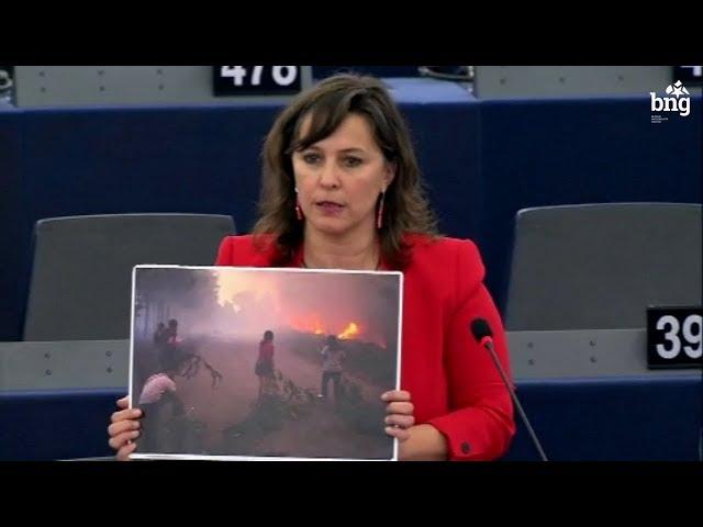 Nunca esqueceremos fotografías así, os incendios son un problema común da Galiza e Portugal