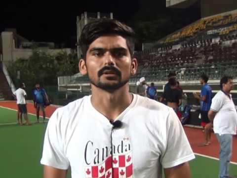 MCC - Murugappa Hockey - Post Match Interview With Gurjinder Singh from Punjab National Bank