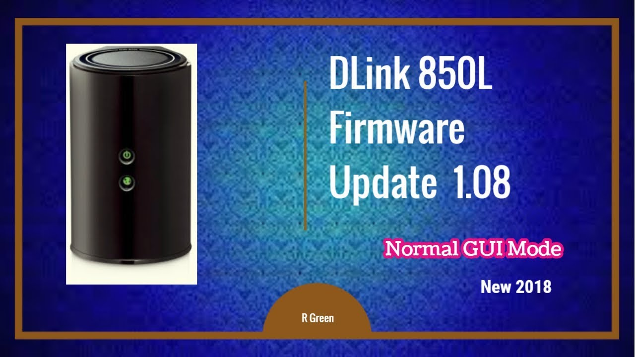 D-LINK DIR-850L REV.B1 ROUTER DRIVERS