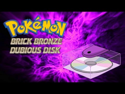 Roblox Pokemon Brick Bronze Extras - How To Get The Dubious Disk!