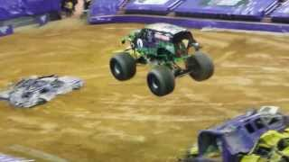 Grave Digger: Monster Jam @ Verizon Center (Jan 24, 2014)
