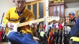 寂しげなギャギャのために、お父さんが久しぶりにエレキを演奏しました...