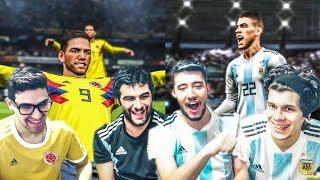 ARGENTINA vs COLOMBIA | Partido Internacional | PES 2019