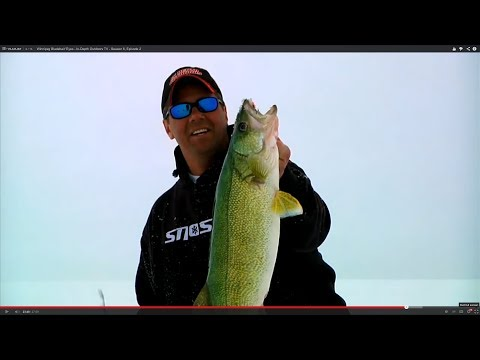 Winnipeg Bladebait 'Eyes - In-Depth Outdoors TV - Season 6, Episode 2