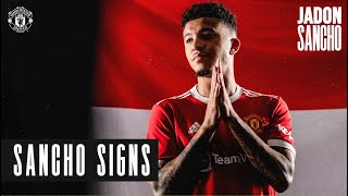 Jadon Sancho signs for Manchester United | New Signings 2021/22