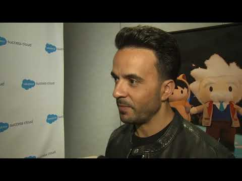 FULL INTERVIEW: 'Despacito' singer Luis Fonsi drops by Dreamforce in San Francisco