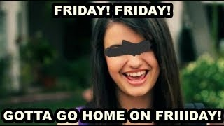 You Laugh You Have to listen to Rebecca Black - Friday