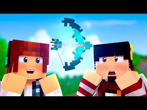 Minecraft Origem #16 -  MELHOR ARCO DO MUNDO!! - Видео из Майнкрафт (Minecraft)