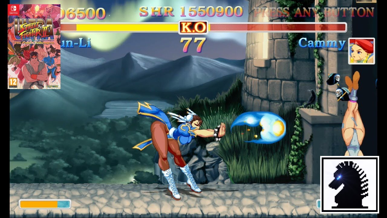 Ns Ultra Street Fighter Ii The Final Challengers Chun Li