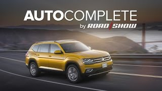 AutoComplete: Volkswagen unveils the all-American Atlas crossover