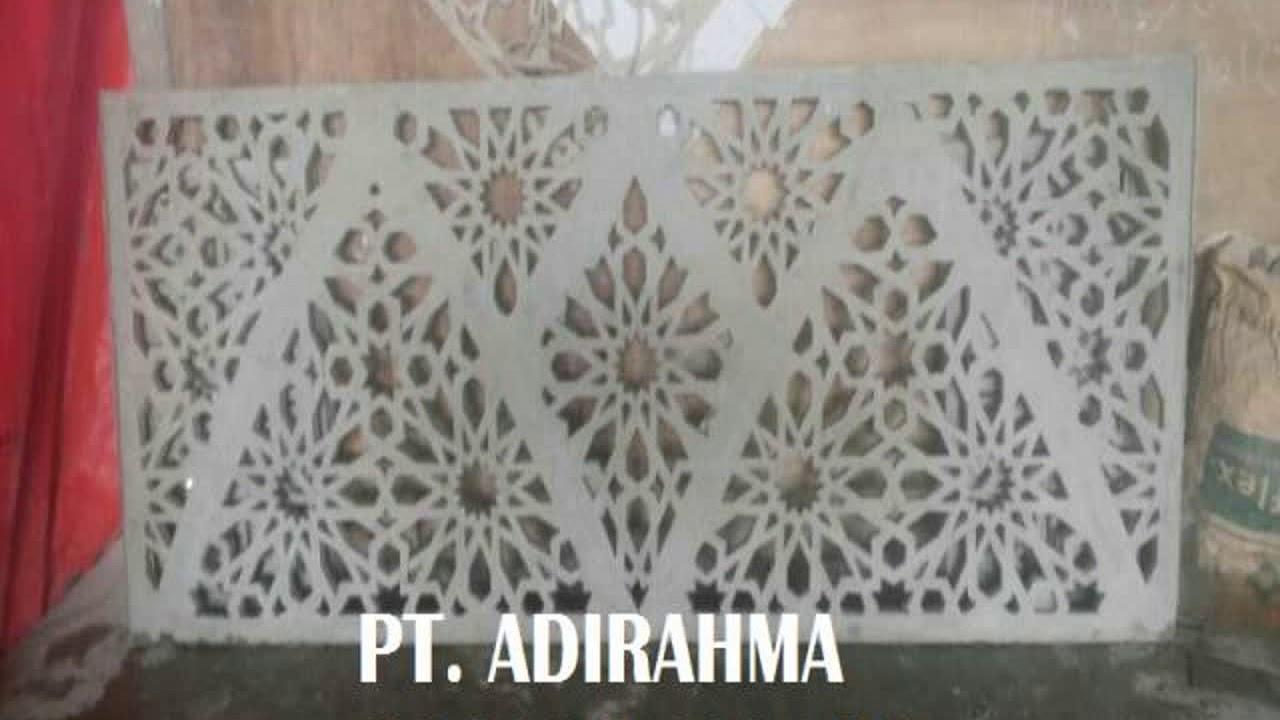 ornamen masjid minimalis, 08567081281 - YouTube
