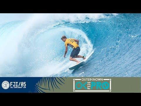 John John Florence vs. Josh Kerr vs. Tevita Gukilau - Round One, Heat 6 - Outerknown Fiji Pro 2017