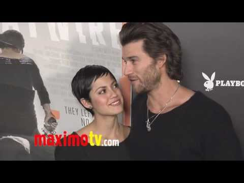 Johnny Whitworth and Sylvia Brindis HAYWIRE Premiere Arrivals