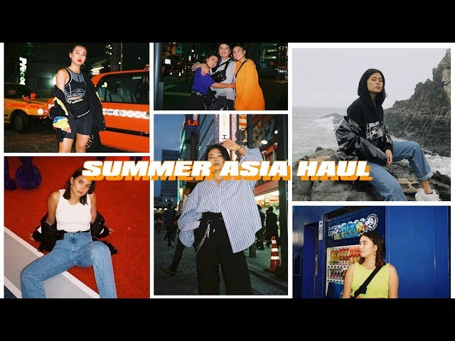 SUMMER ASIA HAUL | Thrift, Stylenanda, Korean Brands etc.