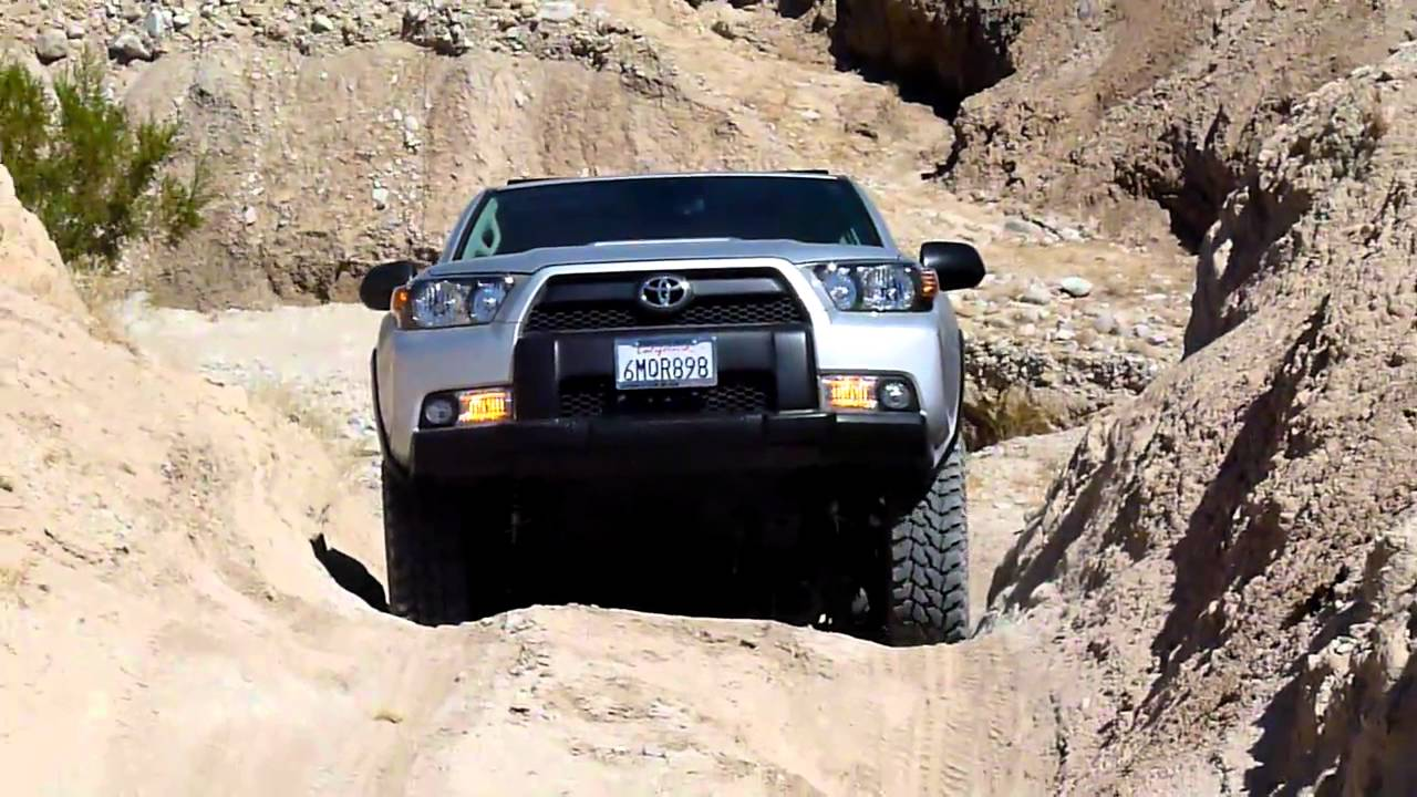 4Runner Trail Premium >> 2010 Lifted 5th Gen 4Runner Off Road in Anza Borrego, CA 2 - YouTube