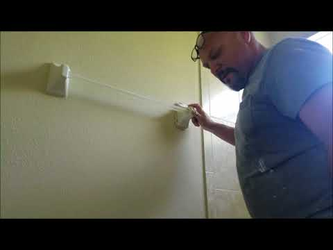 ceramic towel rack installation