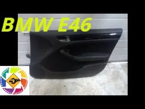 BMW E46  как снять обшивку двери How To Pull The Doors Backside