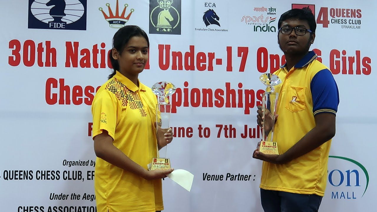National Under 17 Open and Girls Chess Championships 2019