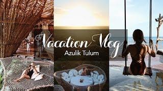 1500usd一晚,没电没网没空调没淋浴的酒店啥感觉😄墨西哥网红酒店Azulik 度假Vlog- ❤️Azulik Tulum Vlog