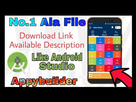Appybuilder high quality earning app aia file!! This is best