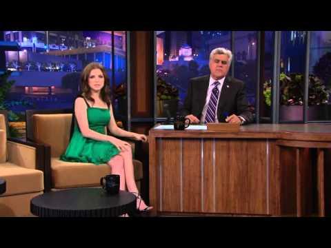 Anna Kendrick - The Tonight Show with Jay Leno 8/10/10