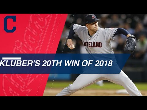 Corey Kluber tallies 20th win of 2018