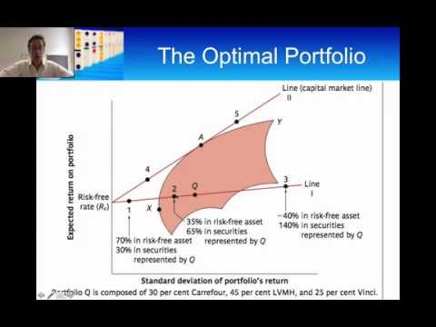 Portfolios: Riskless Borrowing and Lending