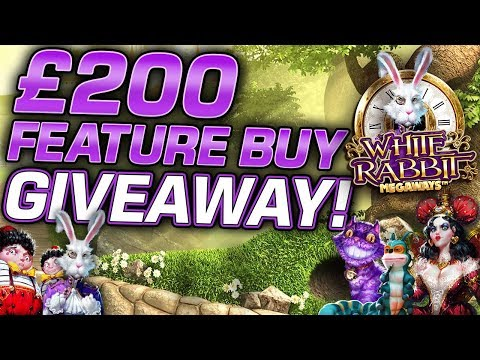 White Rabbit Feature Buy Giveaway x5