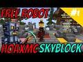 HoaxMC Sky Block EP 1 - Free Robot (No Mobcoins Needed ...