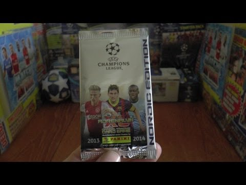 PACK OF THE DAY #48 panini NORDIC EDITION ADRENALYN XL UEFA CHAMPIONS LEAGUE 2013-14 TCG