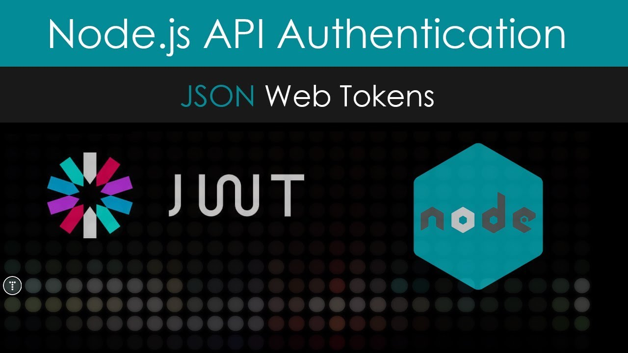 Node js API Authentication With JWT