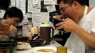 3分16 島田弘基 (筑波大学 アマチュア無線クラブ) 早食い メガ盛り ...