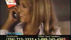 Live Links Chat Line   Television Commercial   1999   Huntsville Alabama