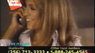 Live Links Chat Line | Television Commercial | 1999 | Huntsville Alabama